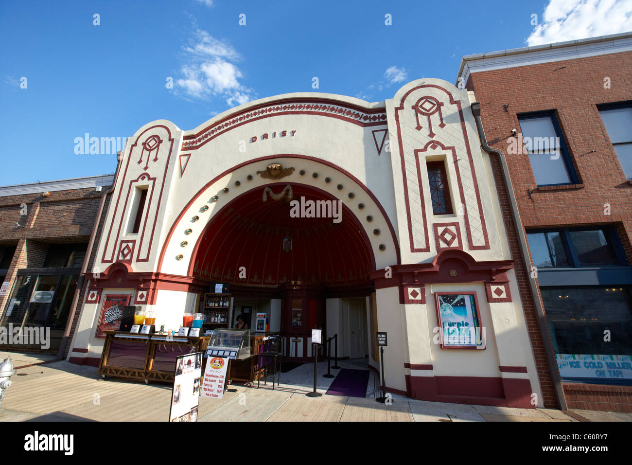 the historical old daisy theater on beale street memphis tennessee united states america usa - Stock Image