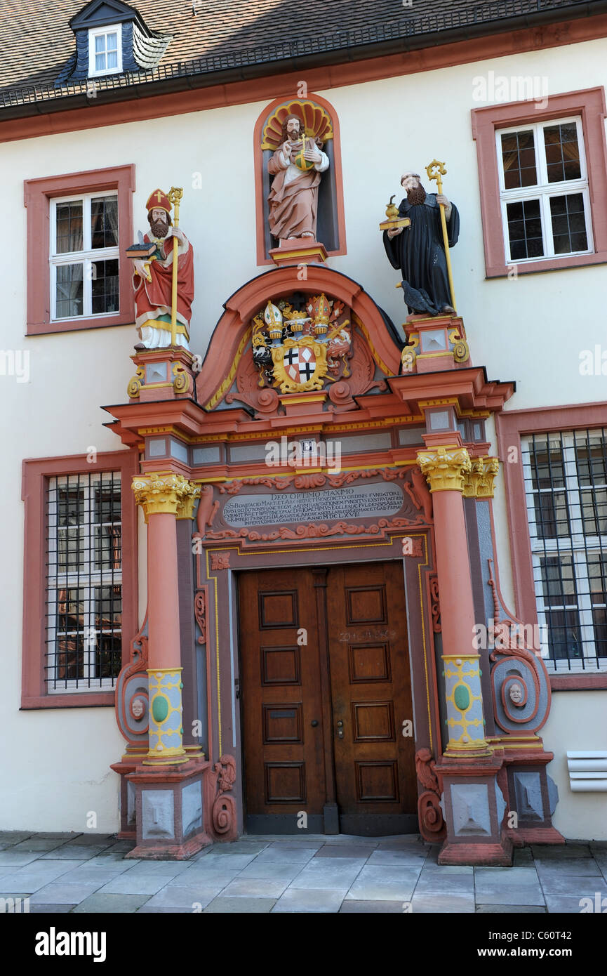 Episcopal seminary convent in Fulda Hesse Germany Deutschland - Stock Image
