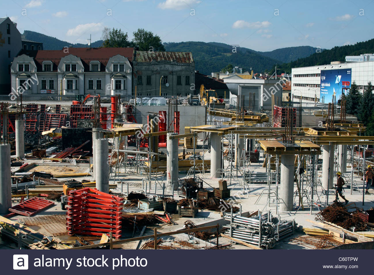559ea06af Mirage Shopping Centre, in Zilina, Slovakia - under construction ...