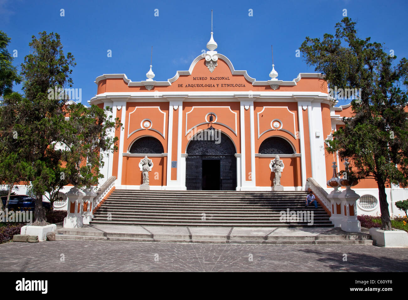 National Museum of Archeology and Ethnology, Guatemala City, Guatemala - Stock Image