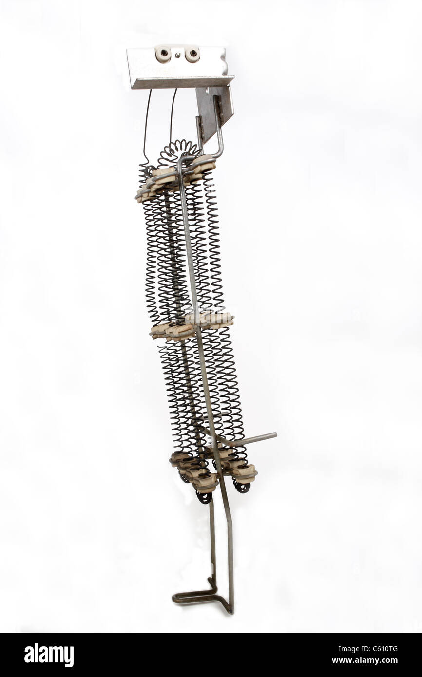 Heating Element Stock Photos Images Alamy Circuit Electric Dryer Image