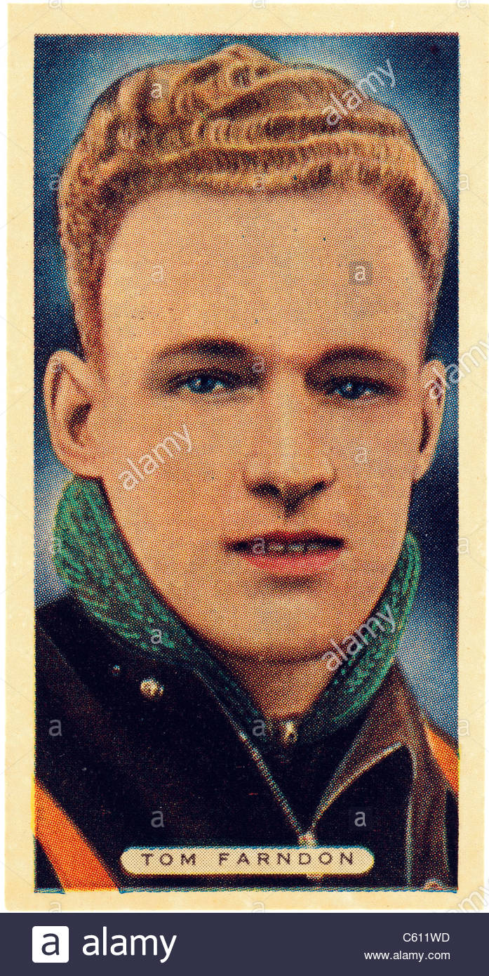 Tom Farndon 1910 to1935, a Speedway rider who won the Star Riders' Championship in 1933 . EDITORIAL ONLY - Stock Image
