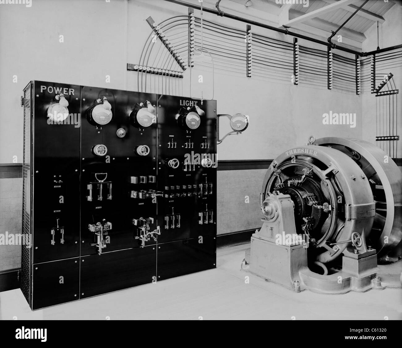 Control panel and dynamo (generator) of a self-contained electric ...