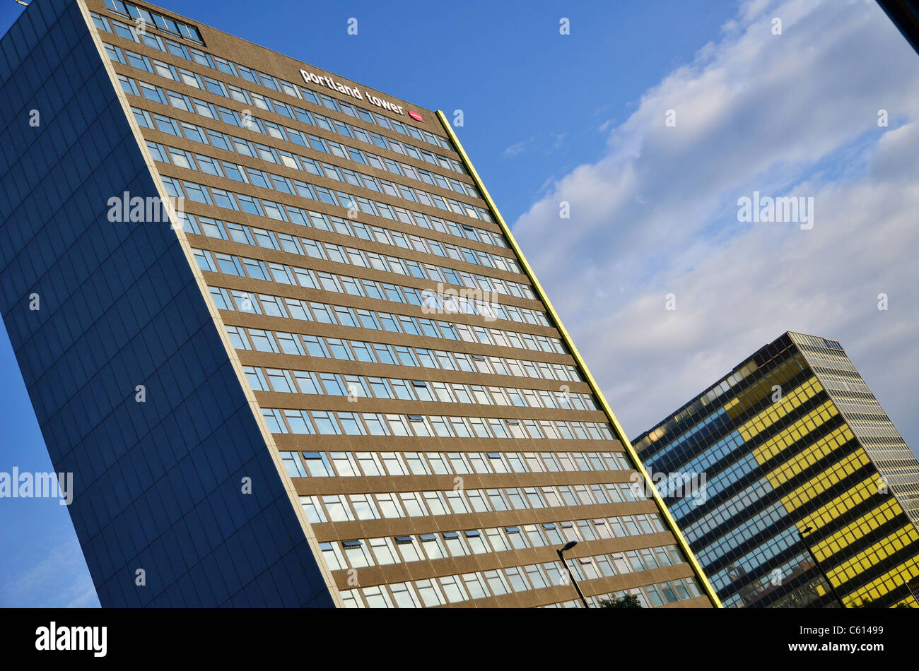 Portland Tower - Manchester - Stock Image
