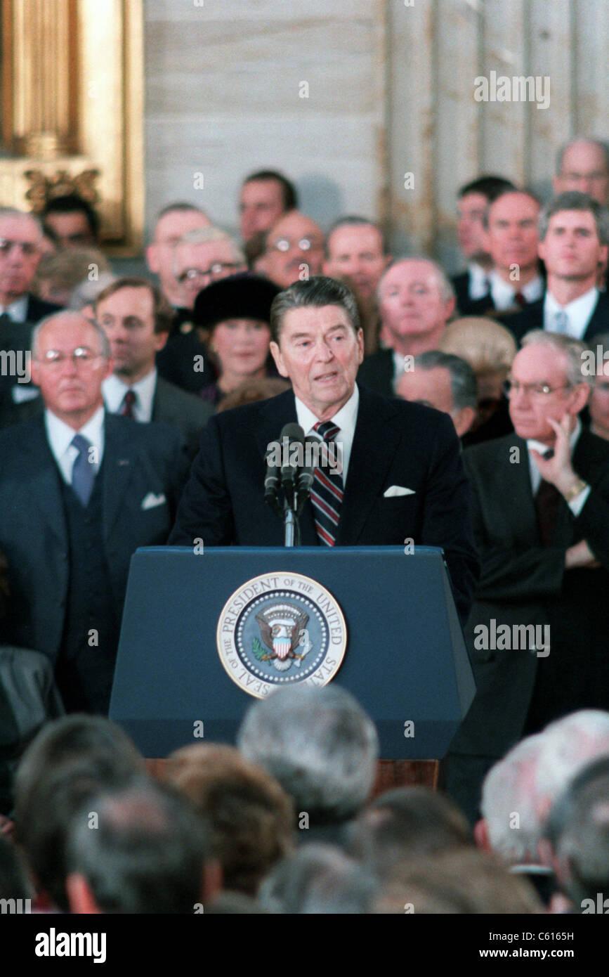 ronald reagan inaugural address 1985