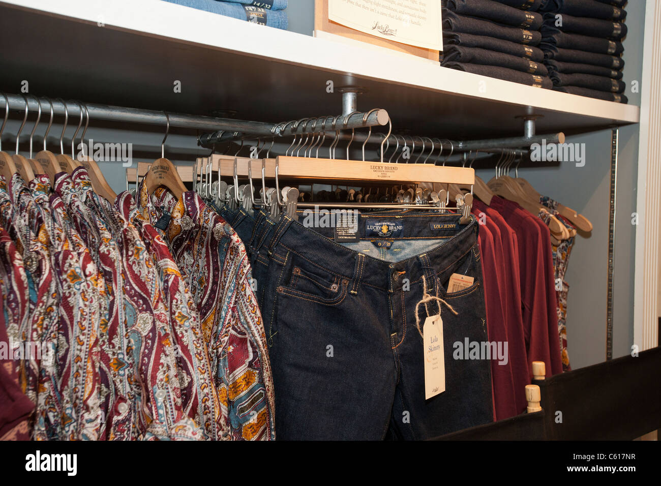 Lucky clothing store