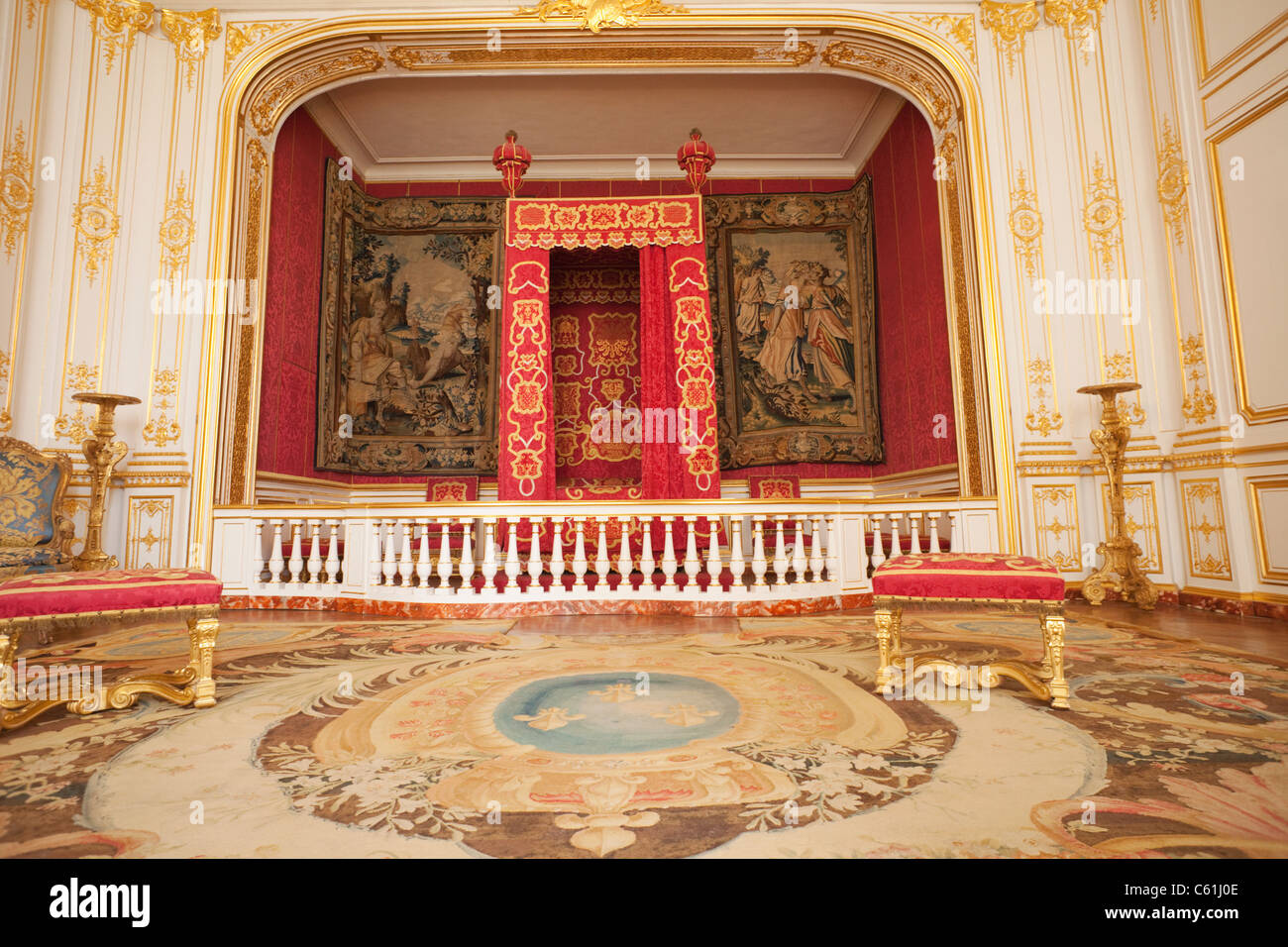 Louis Xiv Bedroom Stock Photos & Louis Xiv Bedroom Stock Images - Alamy