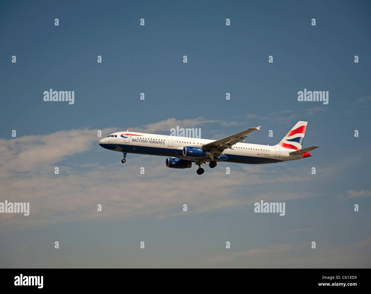 British Airways Airbus A321-231 Airliner  SCO 7554 Stock Photo