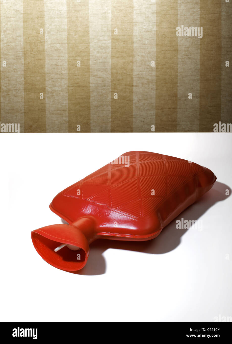 Hot Water bottle - Stock Image