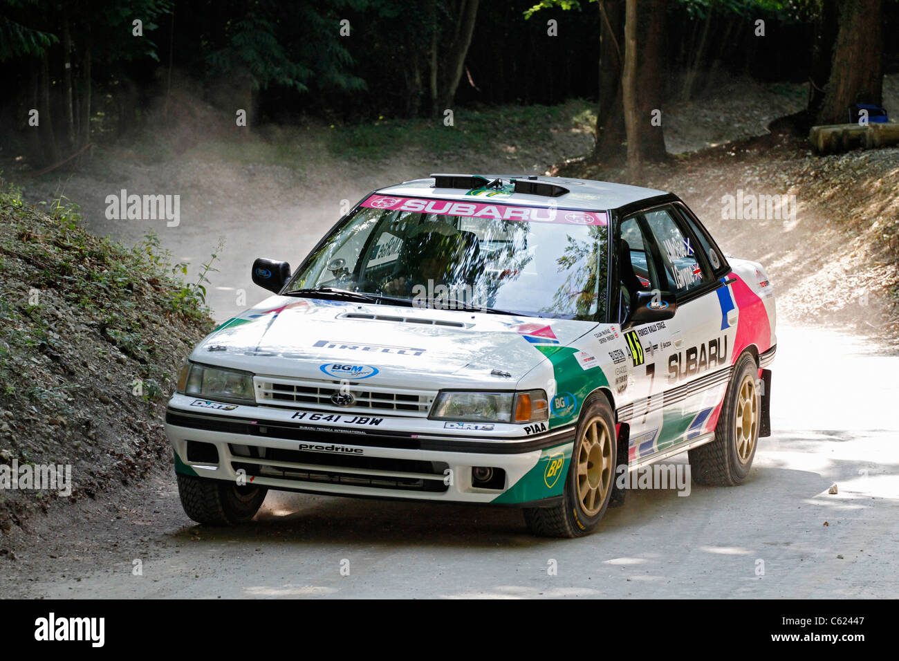 1991 Subaru Legacy Rs Wrc Rally Car At The 2011 Goodwood Festival Of