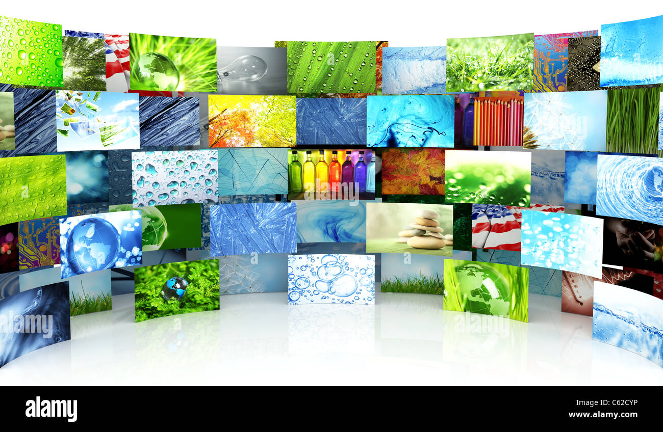 Collection of images - Stock Image