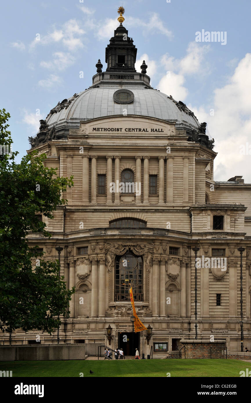 The Methodist Central Hall, Westminster-1 - Stock Image