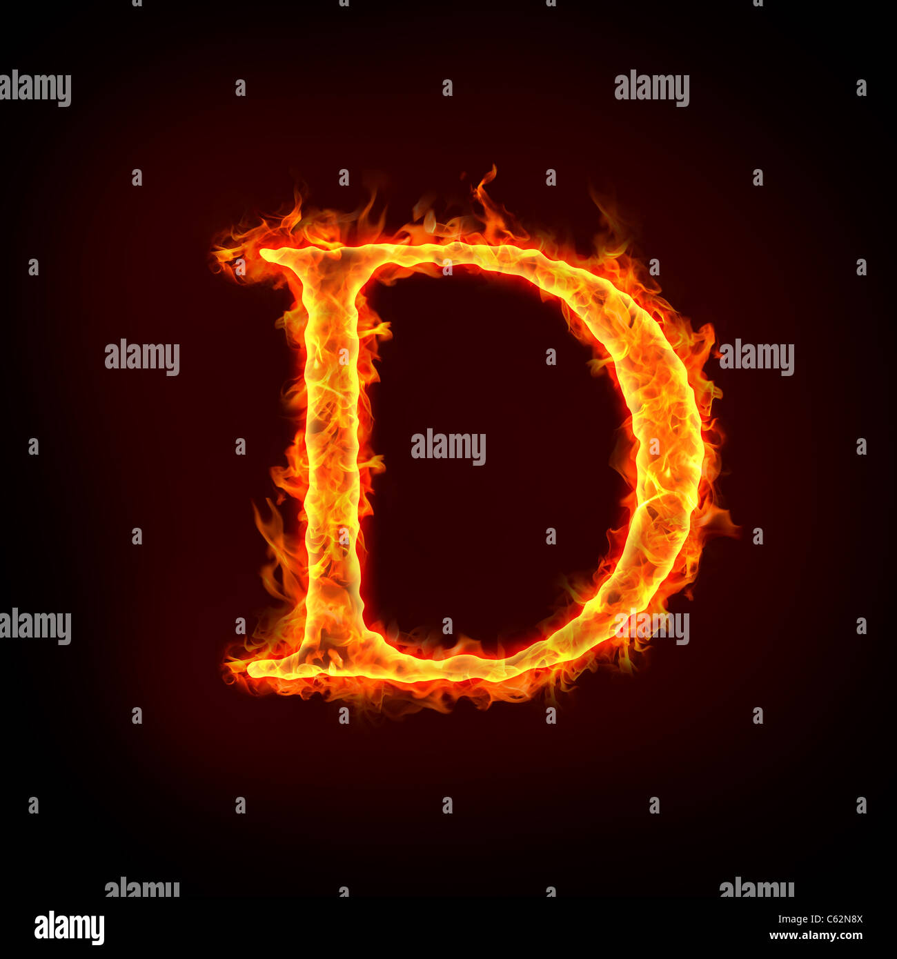Letters alphabet in fire stock photos letters alphabet in fire fire alphabets in flame letter d stock image thecheapjerseys Images