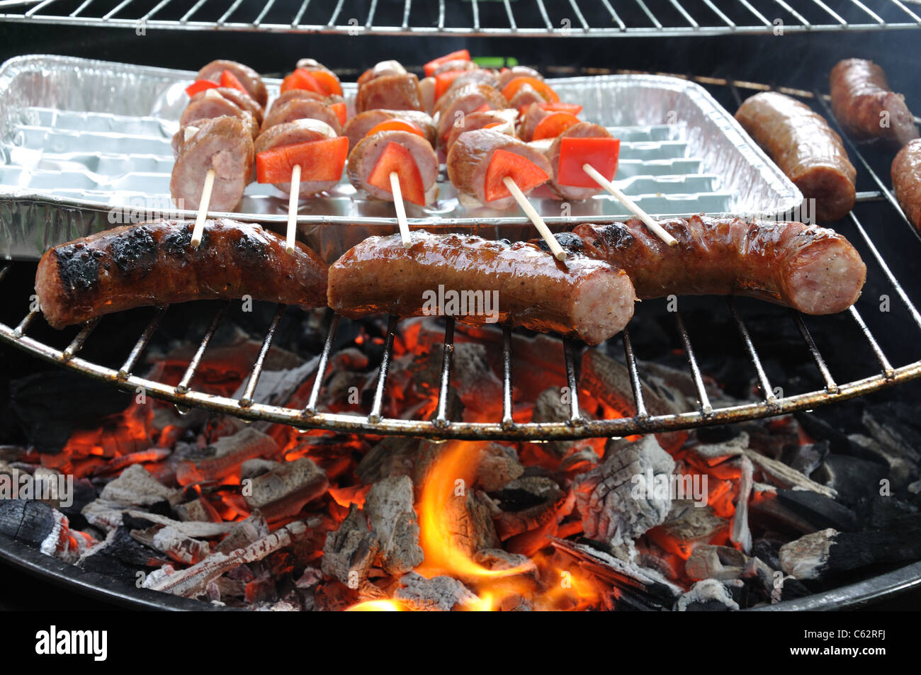 Barbecue grill - Stock Image