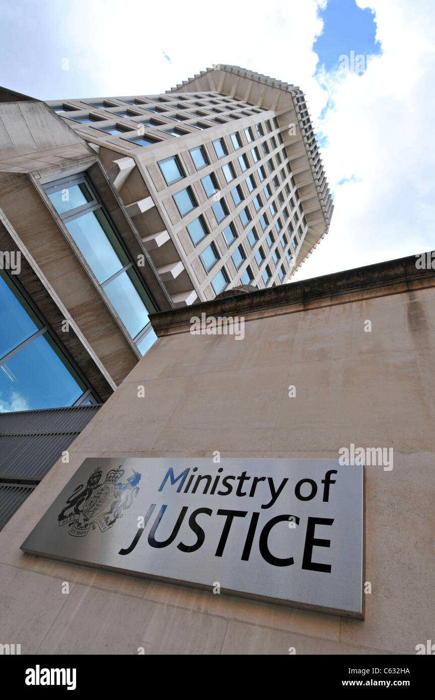 Ministry of Justice building, London, Britain, UK Stock Photo