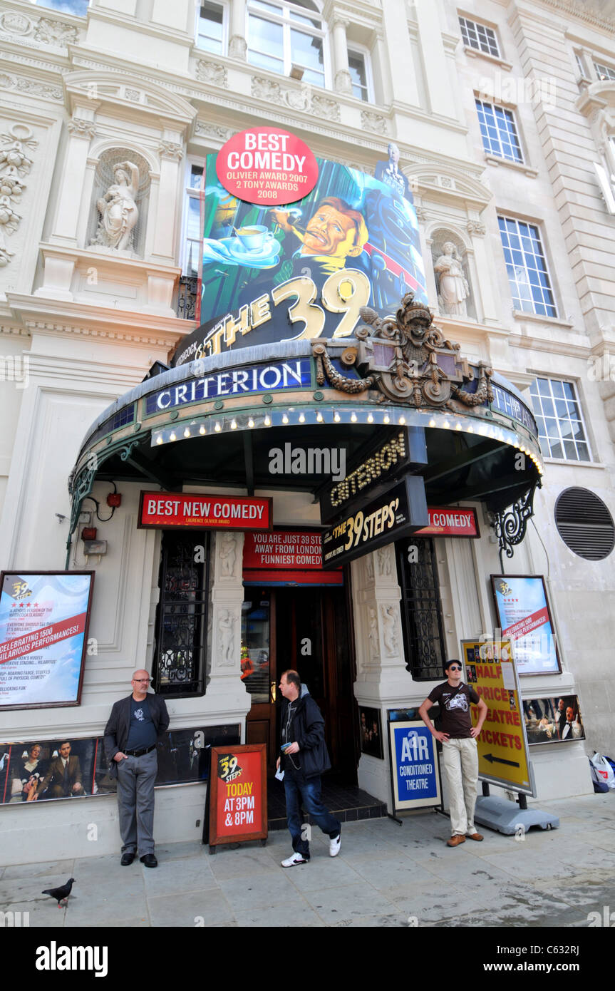 Criterion Theatre, London, Britain, UK - Stock Image