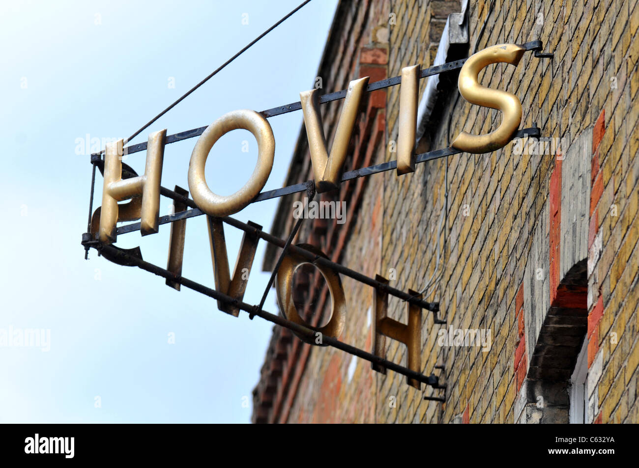 Hovis sign, Hovis Bakery sign - Stock Image