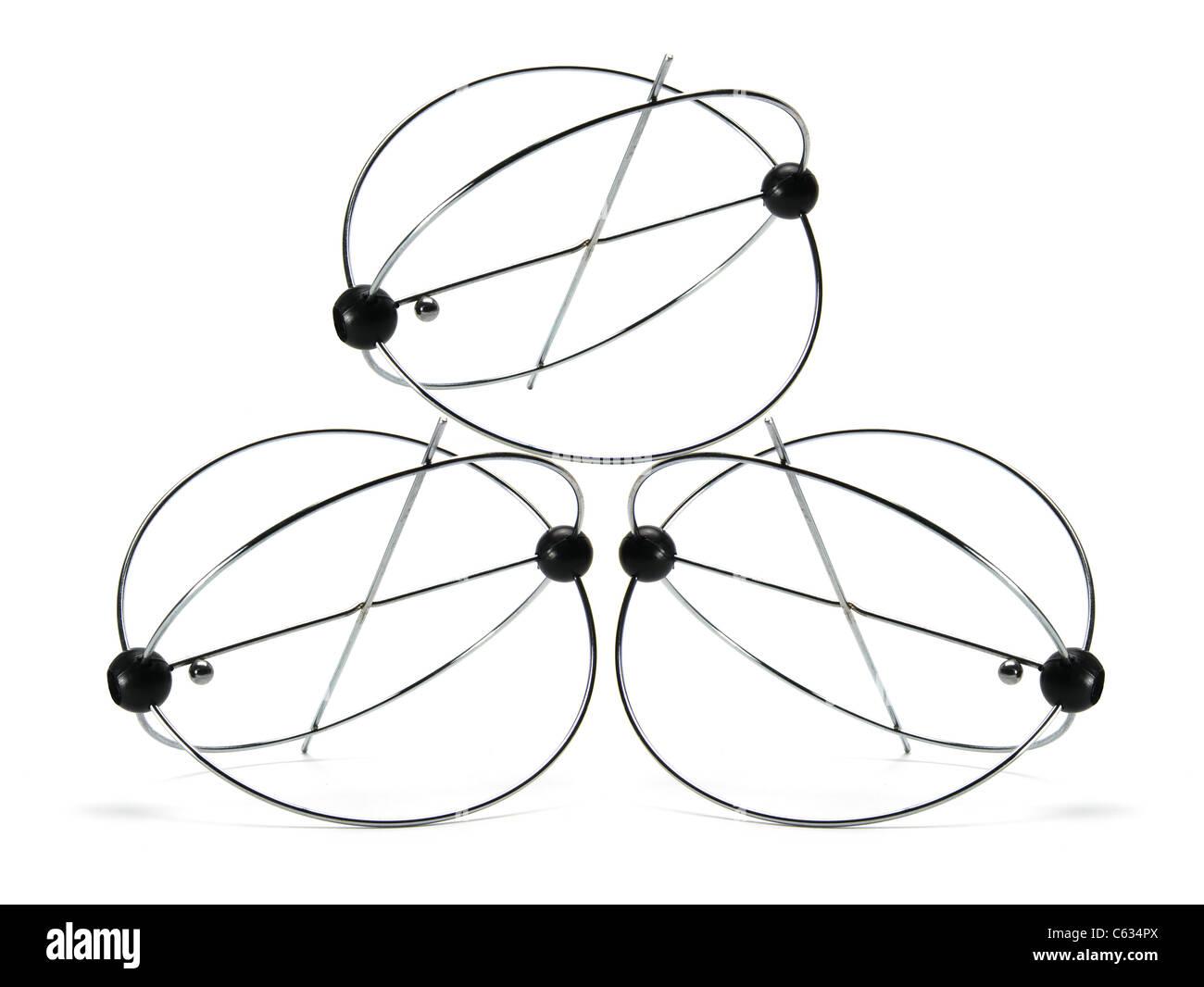 Kinetic Motion Toys - Stock Image