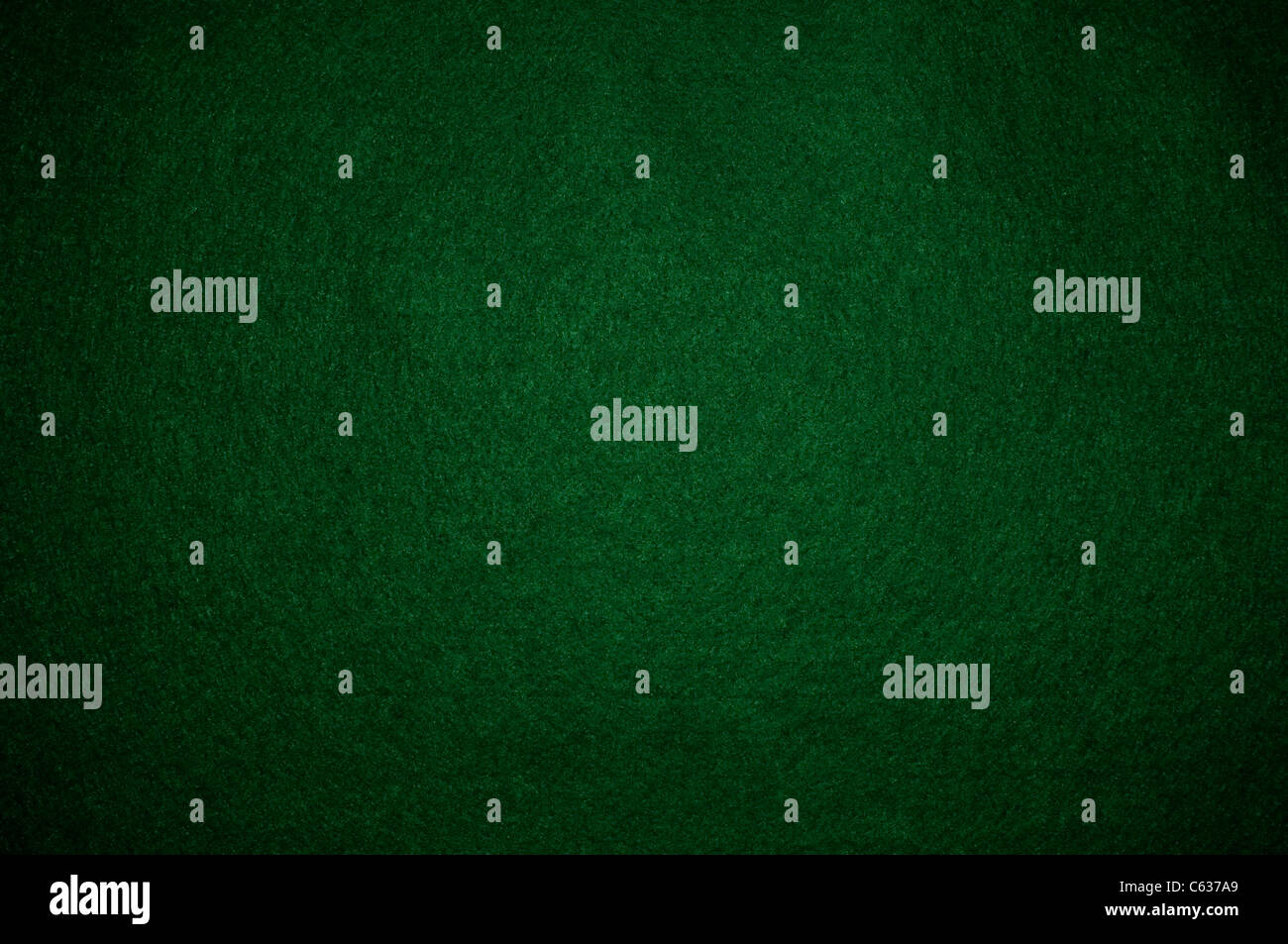 Green poker background - Stock Image