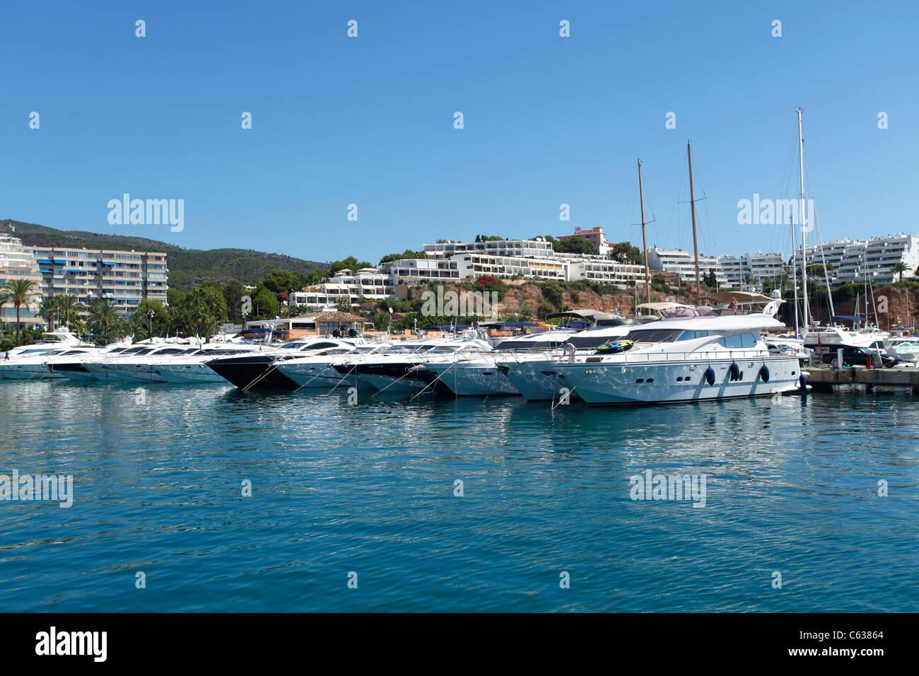 Puerto Portals in Majorca - Stock Image