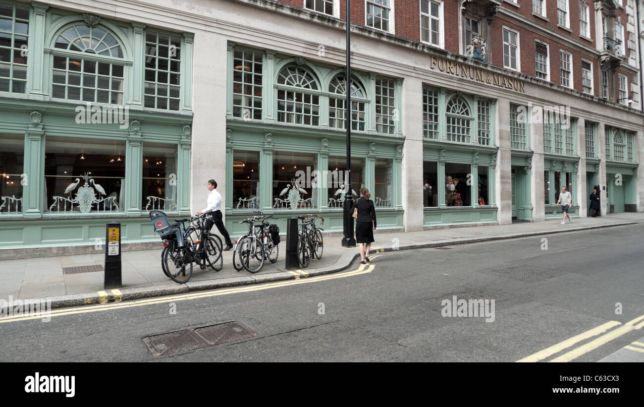 Fortnum & Mason's  Fountain Restaurant, Jermyn Street near Picadilly, London England UK  KATHY DEWITT - Stock Image