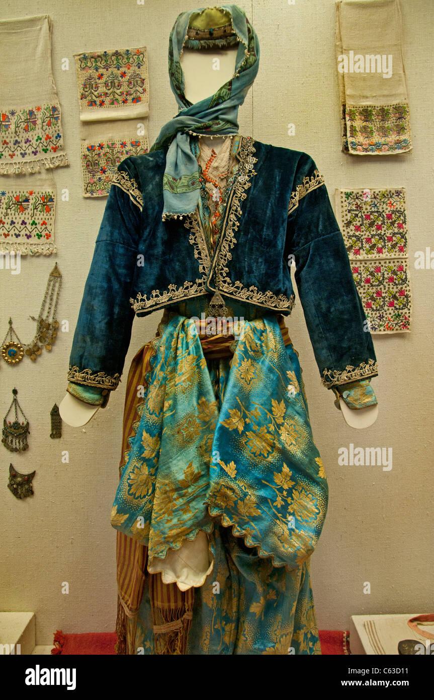 Anatolia Old Dress Woman Turkey Turkish Antalya  Museum - Stock Image