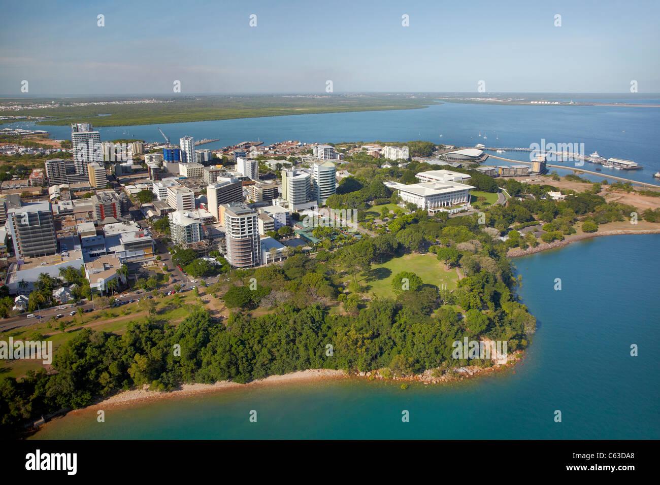 Darwin CBD Esplanade And Bicentennial Park Northern Territory Australia