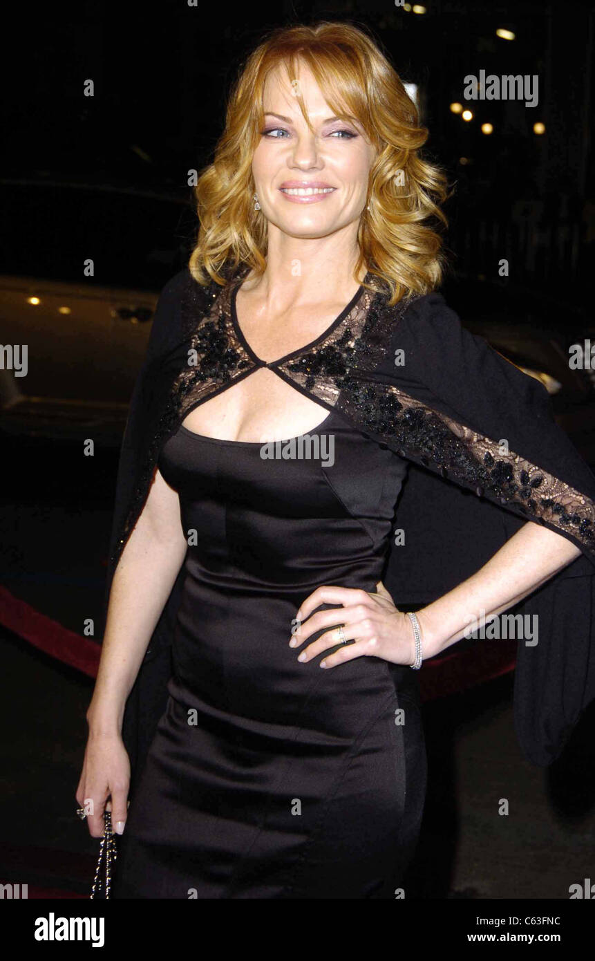 Marg Helgenberger at the premiere of IN GOOD COMPANY at Grauman's Chinese Theatre, Los Angeles, CA, December - Stock Image