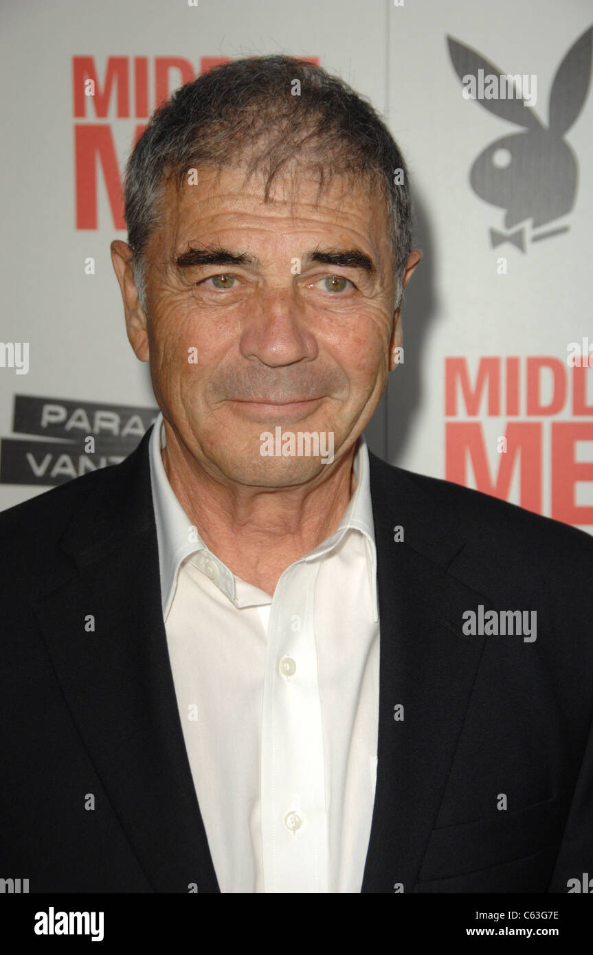 Robert Forster at arrivals for MIDDLE MEN Premiere, Grauman's Chinese Theatre, Los Angeles, CA August 5, 2010. - Stock Image