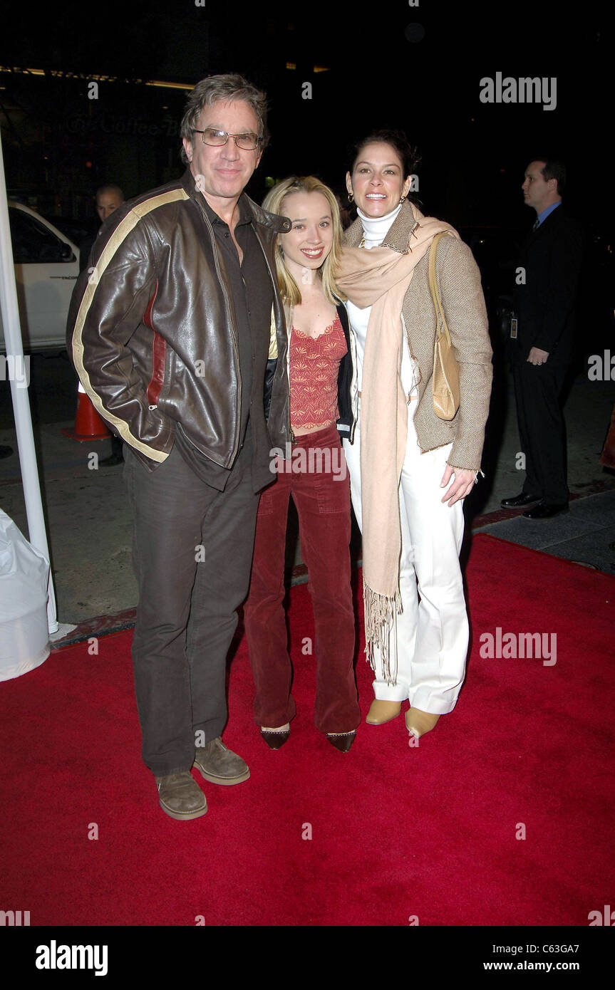Tim Allen, Katherine, Jane Hayduk at arrivals for MISS CONGENIALITY 2 Premiere, Grauman's Chinese Theatre, Los - Stock Image