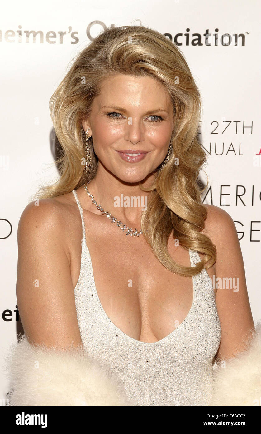 Christie Brinkley at arrivals for AAFA American Image Awards Rita Hayworth Fund Benefit, Grand Hyatt Hotel, New York, NY, May 23, 2005. Photo by: Ian Smile/Everett Collection Stock Photo