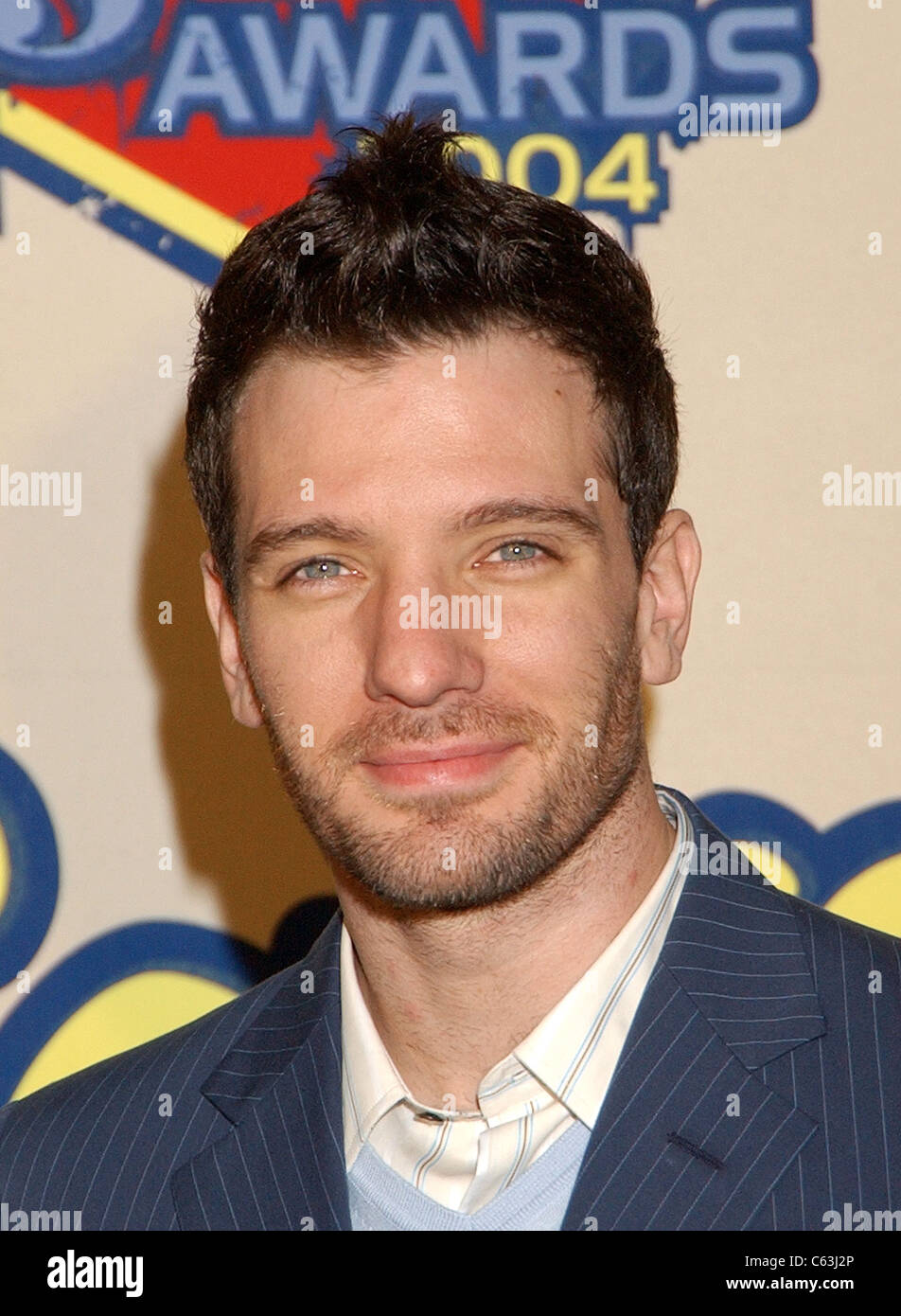 J.C. Chasez at Spike TV's VIDEO GAME AWARDS, Santa Monica, CA, December 14, 2004. (photo: John Hayes/Everett - Stock Image