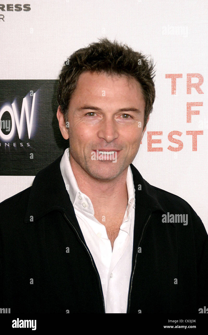 Tim Daley at arrivals for SHOW Business World Premiere at Tribeca Film Festival, Tribeca Performing Arts Center, Stock Photo