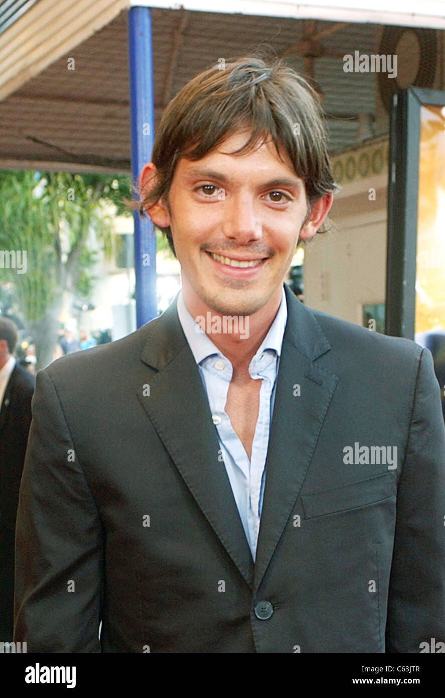 Lukas Haas  at the premiere of SPIDER-MAN 2, Los Angeles, Calif,  June 22, 2004. (John Hayes/Everett Collection) - Stock Image