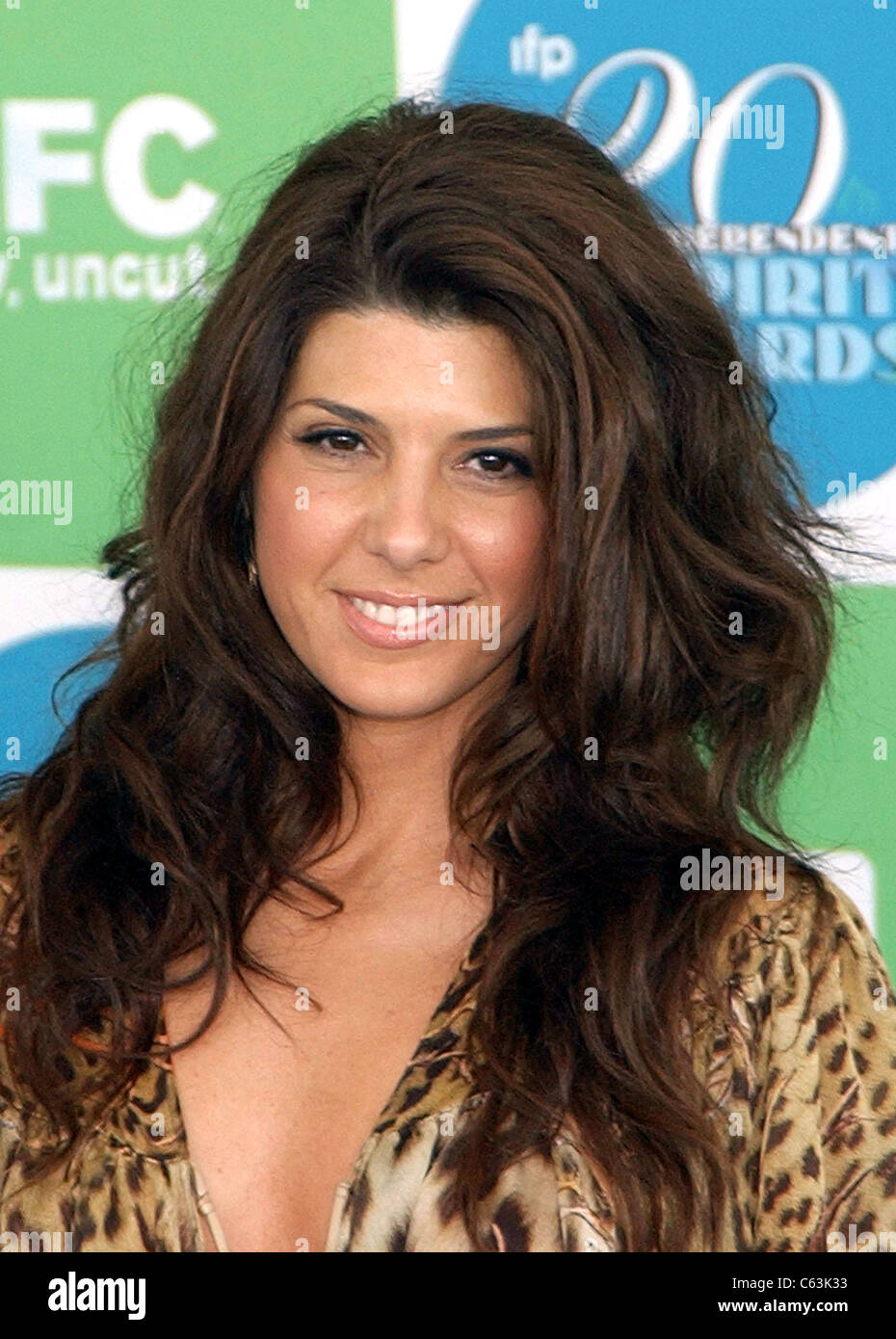 Marisa Tomei at arrivals for 20th IFP Independent Spirit Awards, Los Angeles, CA, Saturday, February 26, 2005. Photo - Stock Image