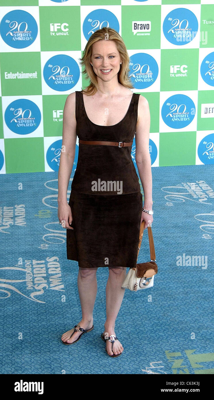 Laura Linney at arrivals for 20th IFP Independent Spirit Awards, Los Angeles, CA, Saturday, February 26, 2005. Photo - Stock Image