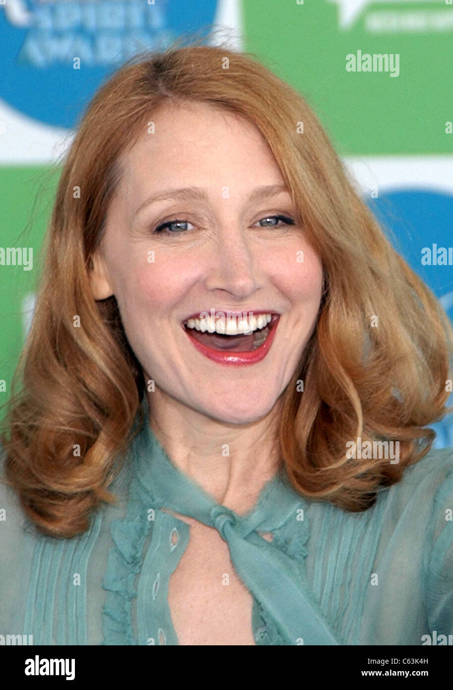 Patricia Clarkson at arrivals for 20th IFP Independent Spirit Awards, Los Angeles, CA, Saturday, February 26, 2005. - Stock Image