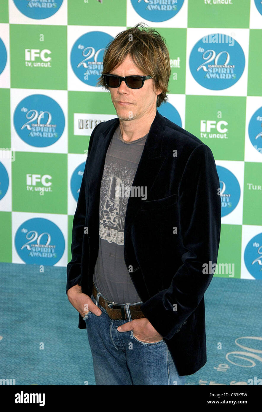 Kevin Bacon at arrivals for 20th IFP Independent Spirit Awards, Los Angeles, CA, Saturday, February 26, 2005. Photo - Stock Image