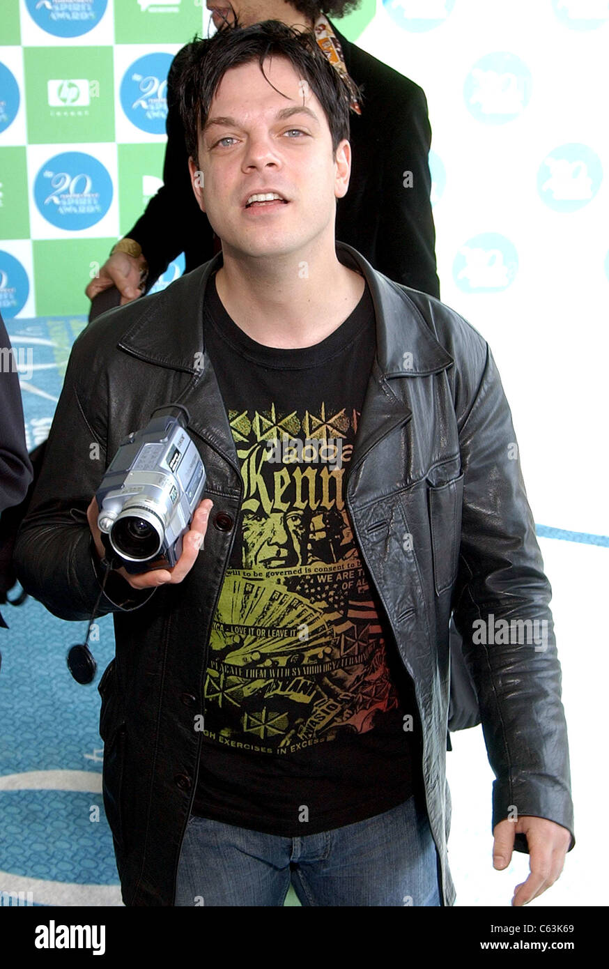 Jonathan Caouette at arrivals for 20th IFP Independent Spirit Awards, Los Angeles, CA, Saturday, February 26, 2005. - Stock Image