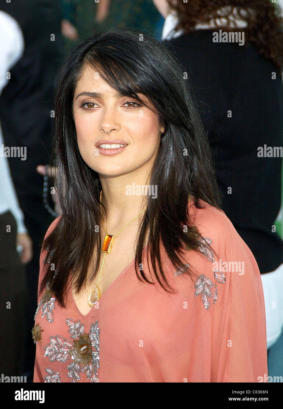 Salma Hayek at arrivals for 20th IFP Independent Spirit Awards, Los Angeles, CA, Saturday, February 26, 2005. Photo - Stock Image