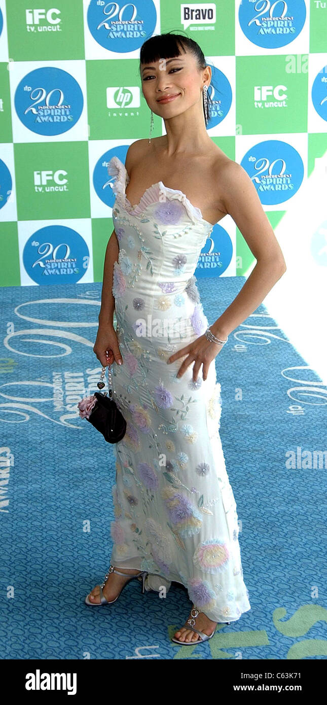 Bai Ling at arrivals for 20th IFP Independent Spirit Awards, Los Angeles, CA, Saturday, February 26, 2005. Photo - Stock Image