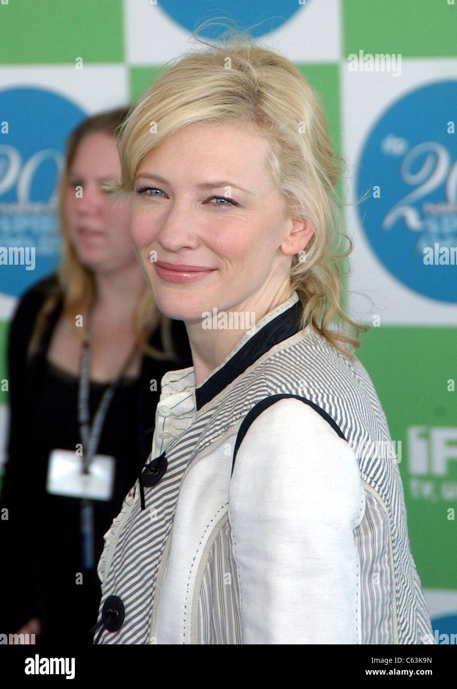 Cate Blanchett at arrivals for 20th IFP Independent Spirit Awards, Los Angeles, CA, Saturday, February 26, 2005. - Stock Image