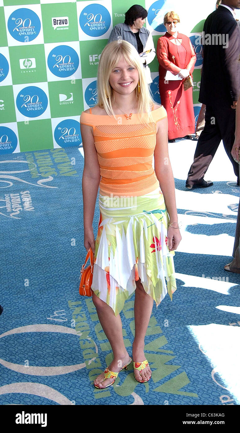 Carly Schroeder at arrivals for 20th IFP Independent Spirit Awards, Los Angeles, CA, Saturday, February 26, 2005. - Stock Image