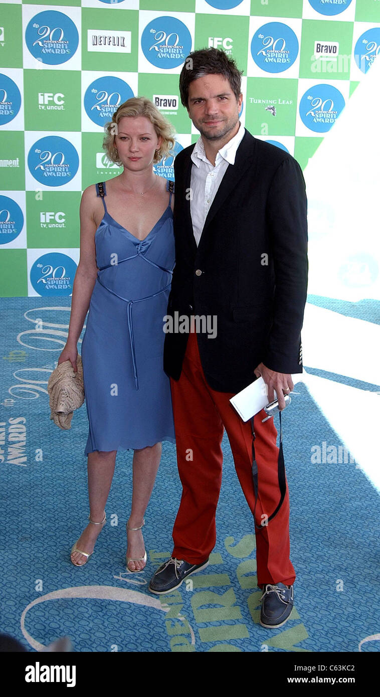 Gretchen Mol, Tod Williams at arrivals for 20th IFP Independent Spirit Awards, Los Angeles, CA, Saturday, February - Stock Image