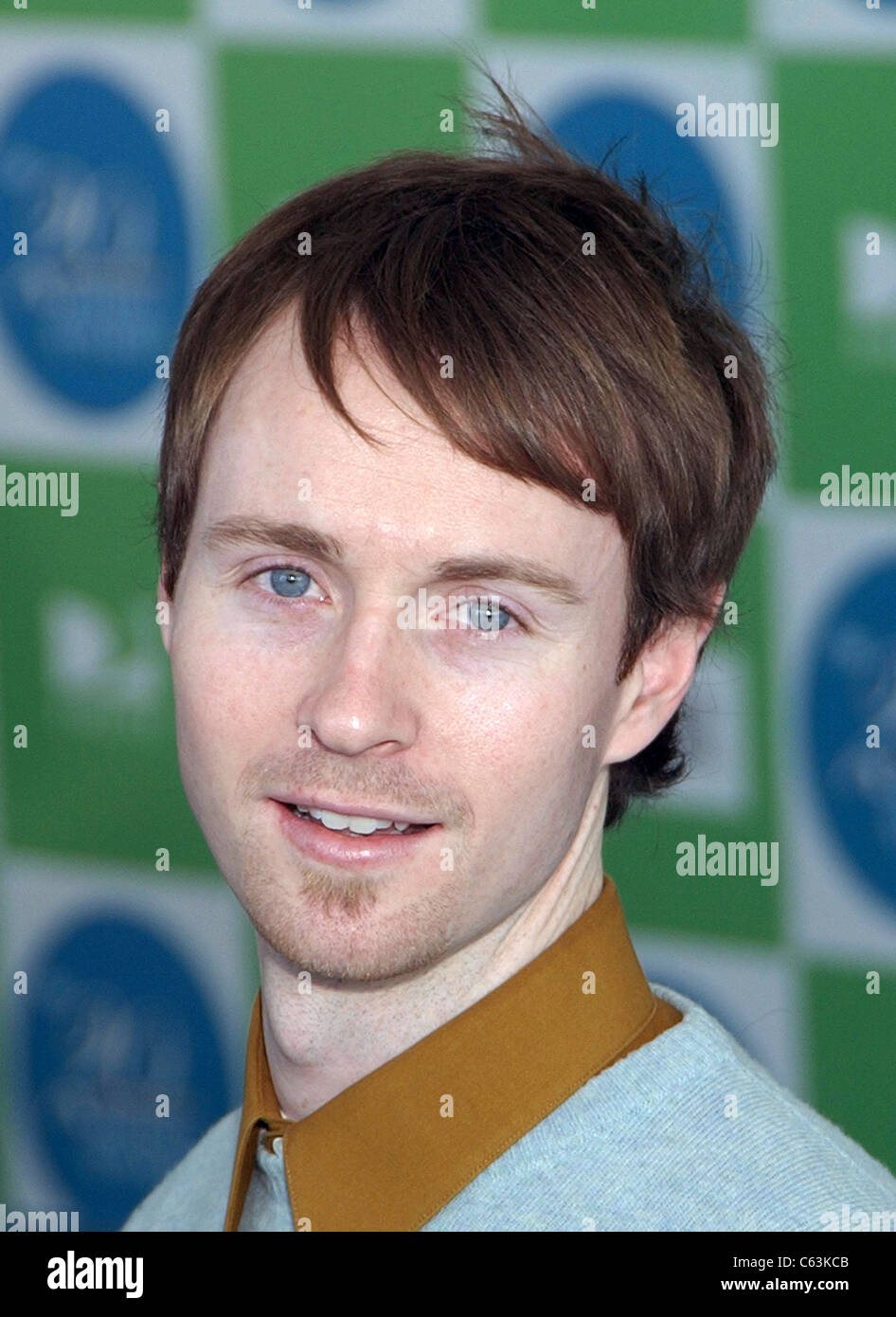 Aaron Ruell at arrivals for 20th IFP Independent Spirit Awards, Los Angeles, CA, Saturday, February 26, 2005. Photo - Stock Image