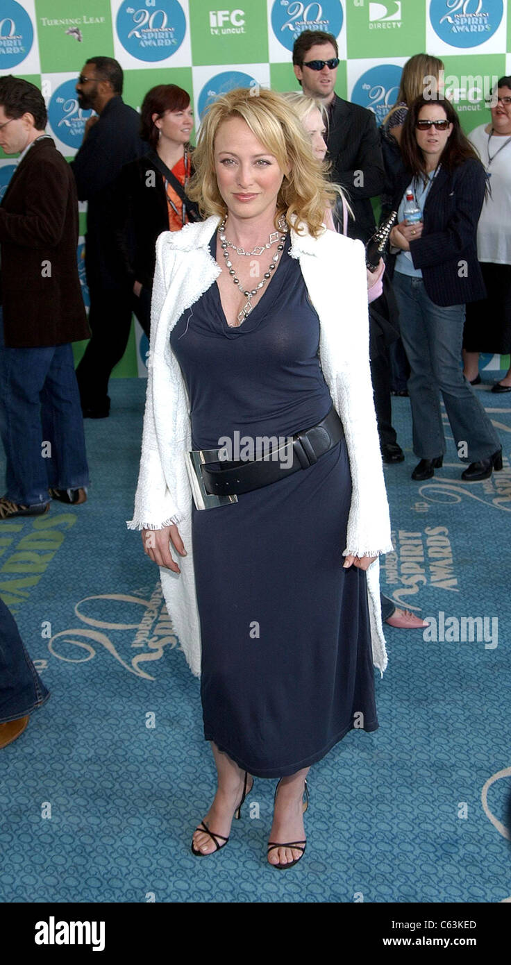 Virginia Madsen at arrivals for 20th IFP Independent Spirit Awards, Los Angeles, CA, Saturday, February 26, 2005. - Stock Image