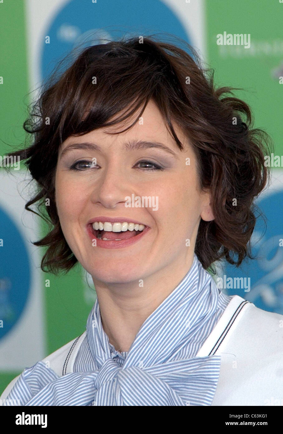 Emily Mortimer at arrivals for 20th IFP Independent Spirit Awards, Los Angeles, CA, Saturday, February 26, 2005. - Stock Image