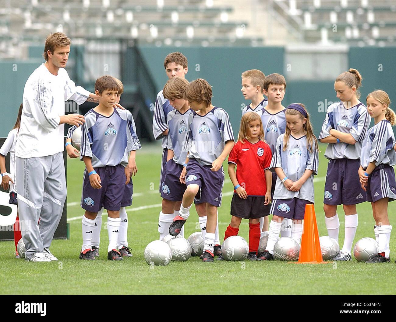 51f4811f97a Young David Beckham Stock Photos   Young David Beckham Stock Images ...