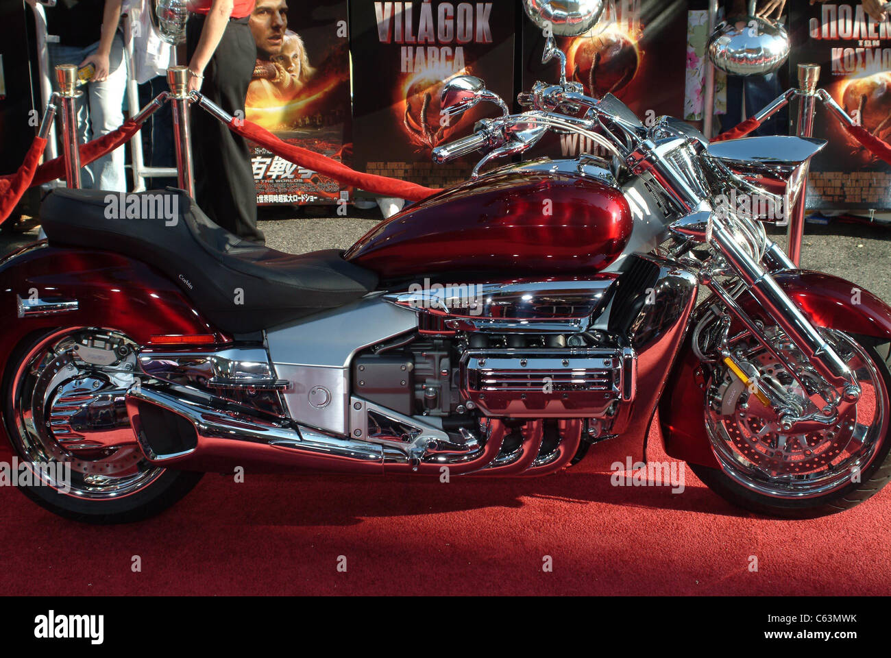 Tom Cruise's Biker at arrivals for War of the Worlds Premiere, Grauman's Chinese Theatre, Los Angeles, CA, - Stock Image