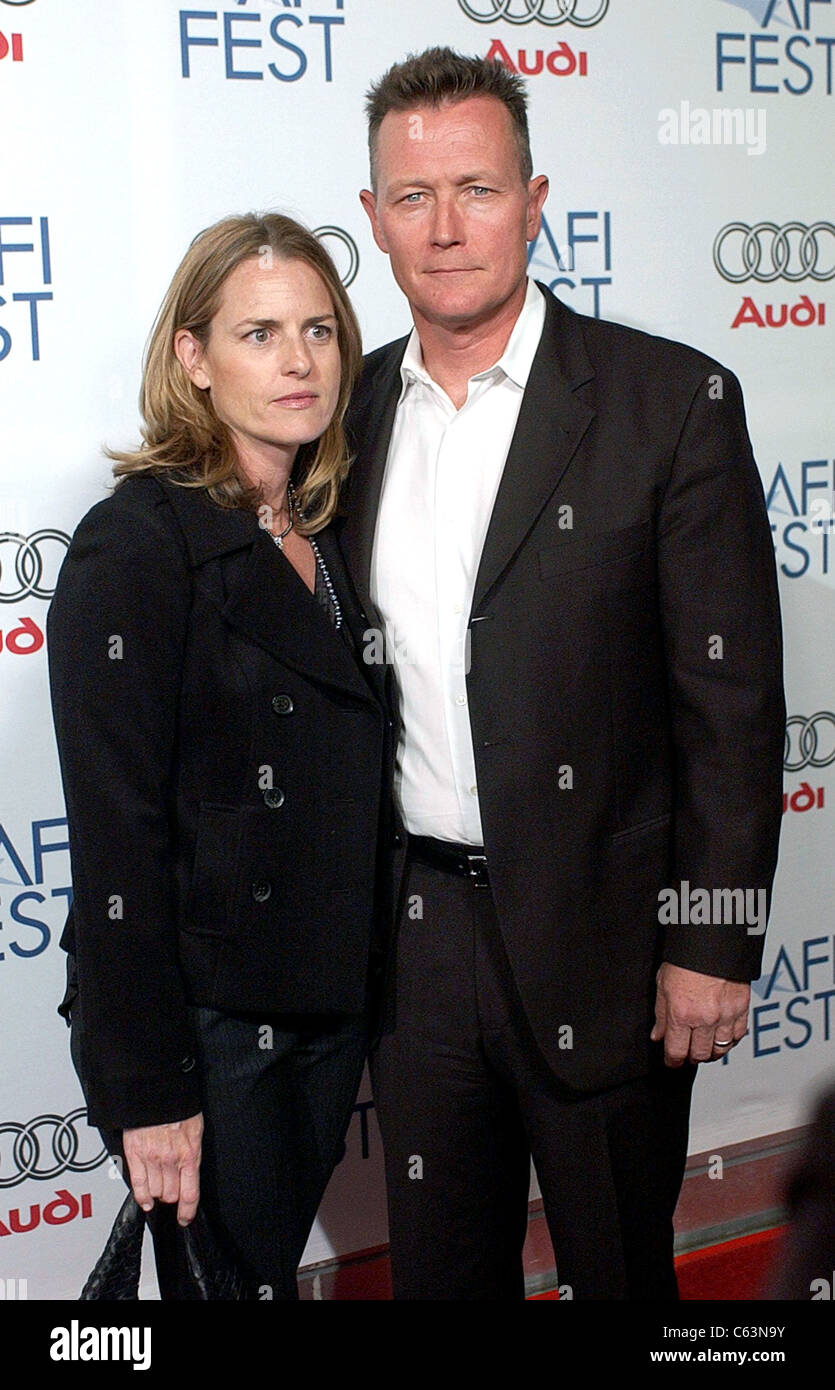 Barbara, Robert Patrick at arrivals for WALK THE LINE Premiere at AFI Fest 2005 Opening Night Gala, The ArcLight - Stock Image